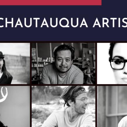 Collections of artist's photos - Meet the Chautauqua Artists