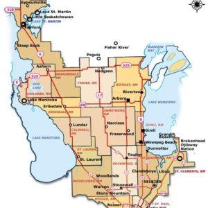 Interlake Map
