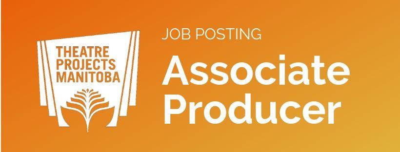 Job posting Associate Producer banner