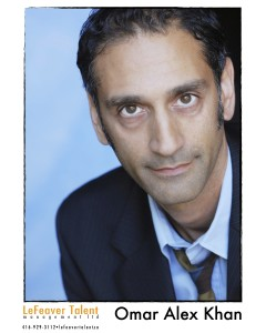 Omar Alex Khan headshot tie