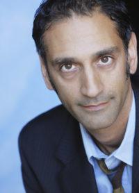 Omar Alex Khan headshot tie