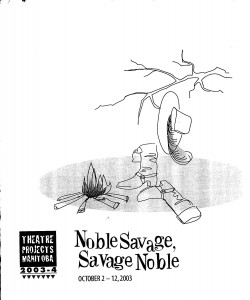 Program- Noble Savage, Savage Noble_Page_1